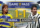 "21 ANNI FA IL ""GOL DEFINITIVO"": PAPIRUS, CON ""THE VOICE"" CARLO CHIESA RIVIVE PARMA-JUVENTUS DEL 09.01.2000 (VIDEO)"