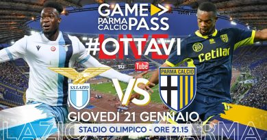 LAZIO-PARMA (OTTAVI COPPA ITALIA), GAMEPASS DIRETTA LIVE REACTION (Video Papirus Ultra)
