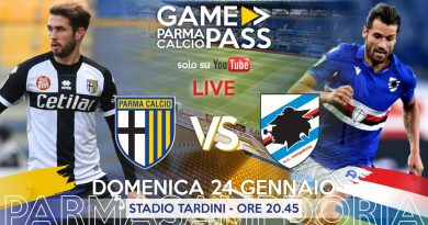 PARMA-SAMPDORIA, GAMEPASS DIRETTA LIVE REACTION (Video Papirus Ultra)