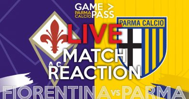 FIORENTINA-PARMA, GAMEPASS DIRETTA LIVE REACTION (Video Papirus Ultra)