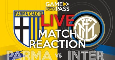 PARMA-INTER, GAMEPASS DIRETTA LIVE REACTION (Video Papirus Ultra)